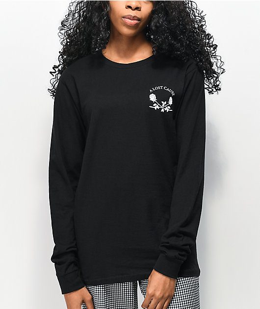 A Lost Cause Pay Later Black Long Sleeve T-Shirt