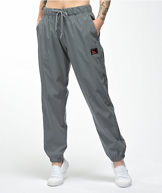A Lost Cause Reflective Grey Track Pants