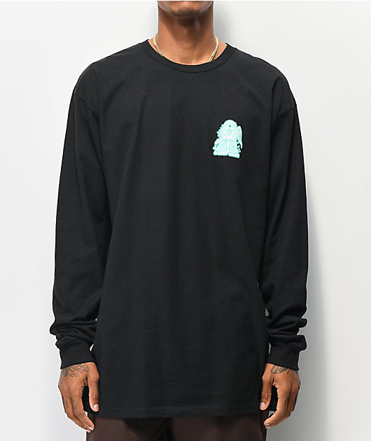 A Lost Cause Times Up V2 Black Long Sleeve T-Shirt