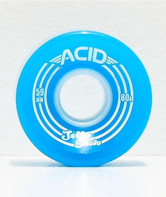 Acid Jelly Shots Blue 59mm 82a Cruiser Wheels