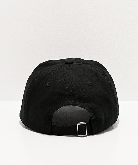 Airblaster Black Strapback Hat