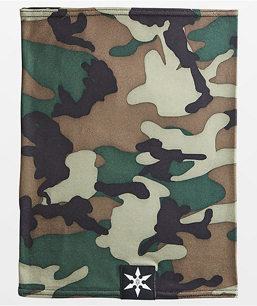 Airblaster Ninja Camo Turtleneck Face Cover