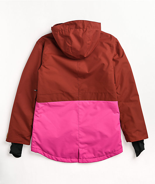 Airblaster Stay Wild Pink Parka 10K Snowboard Jacket