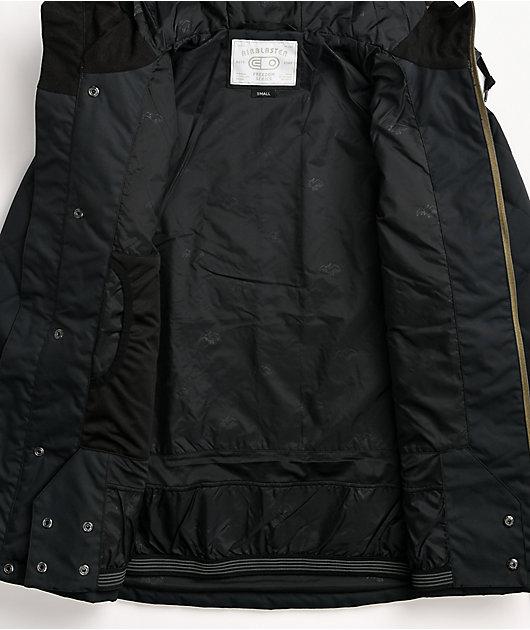 Airblaster Work Black 10K Snowboard Jacket