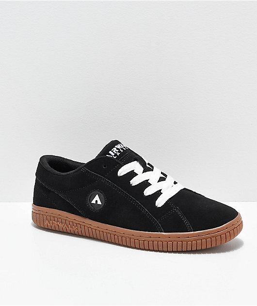 Airwalk The One Black \u0026 Gum Skate Shoes
