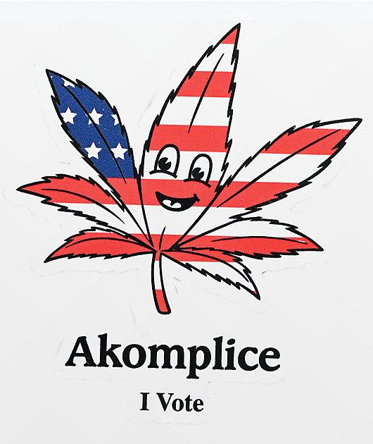 Akomplice Legalize It Sticker