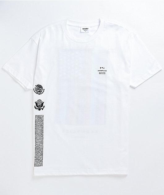 Akomplice Mi Bandera White T-Shirt