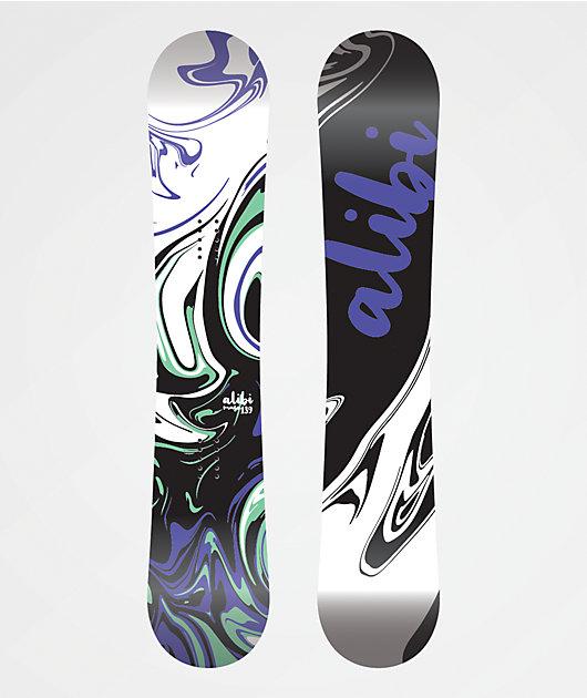 Alibi Muse Snowboard Women's 2020 - Graphic Blem