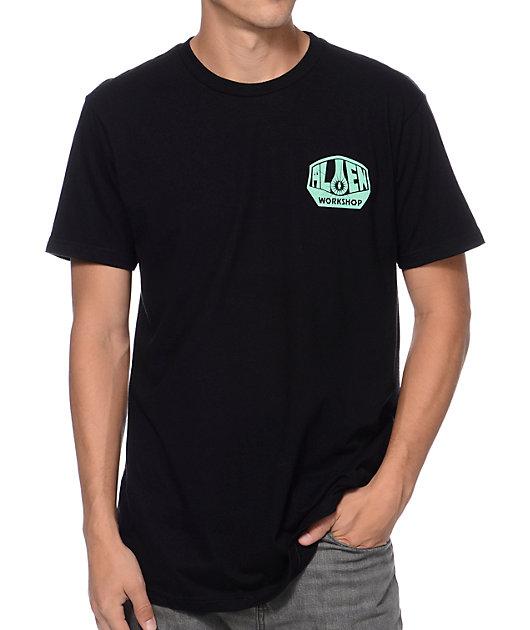 Alien Workshop OG Team Issue Black & Mint T-Shirt
