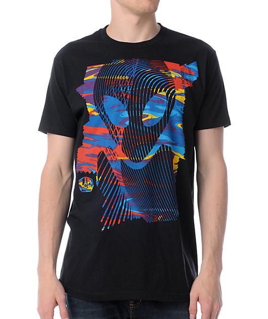 Alien Workshop Vortex Black T-Shirt
