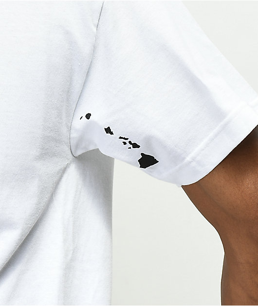 Aloha Army Fields White T-Shirt