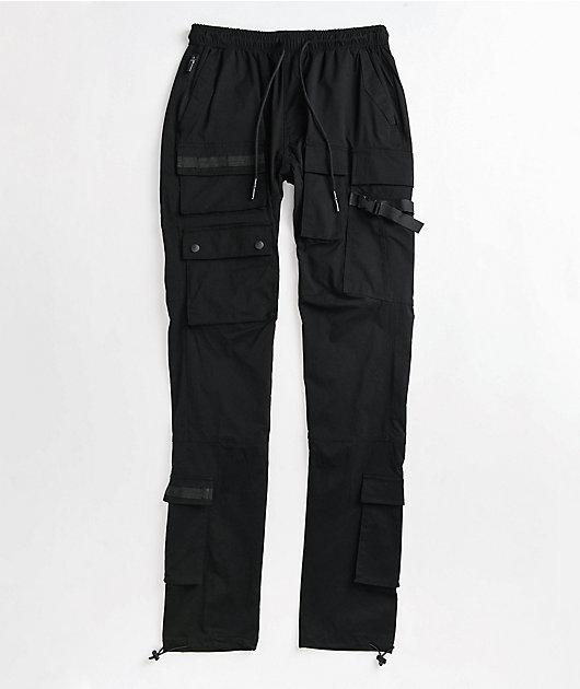 American Stitch Black Cargo Pants