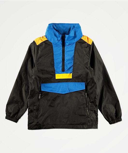 American Stitch Boys Color Block Anorak Windbreaker Jacket