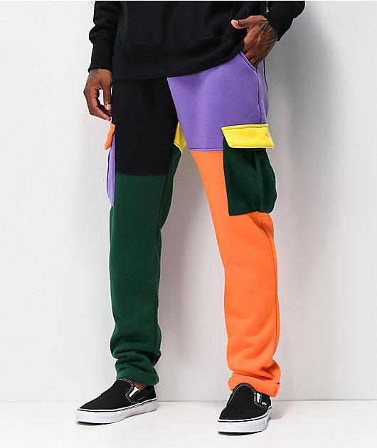 American Stitch Colorblock pantalones deportivos