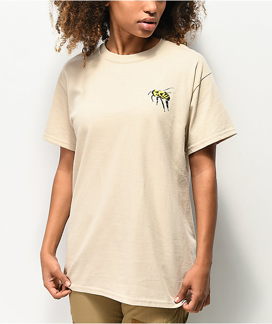 Amplifier Equality Cream T-Shirt