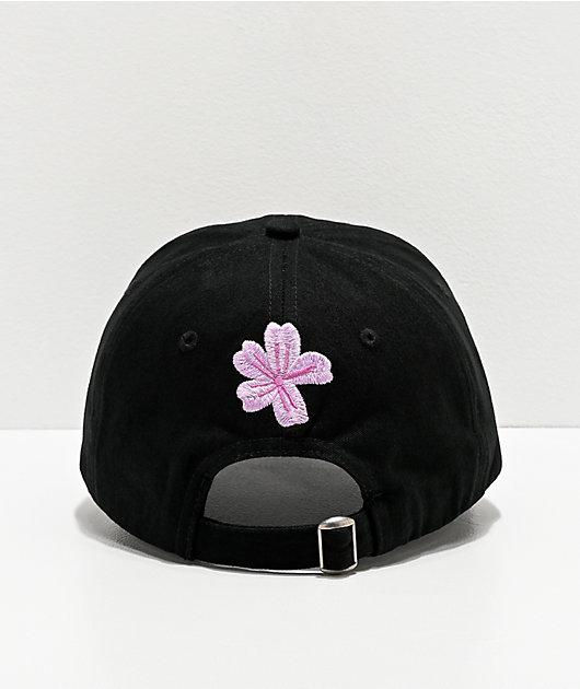 Amplifier Vote Love Flower Black Strapback Hat
