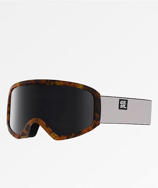Anon Insight Tort & SONAR Smoke Snowboard Goggles