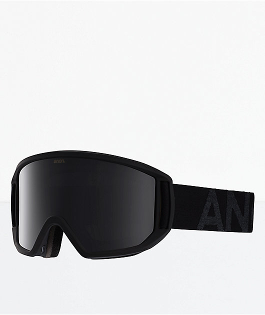Anon Relapse Smoke & SONAR Smoke Snowboard Goggles