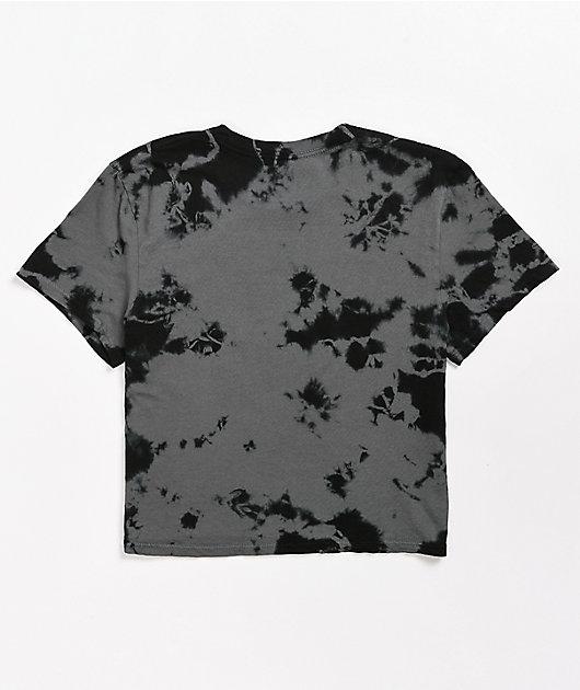 Anonymous Tie Dye Crop T-Shirt