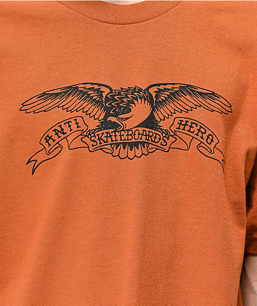 Anti-Hero Basic Eagle Rusty Orange T-Shirt