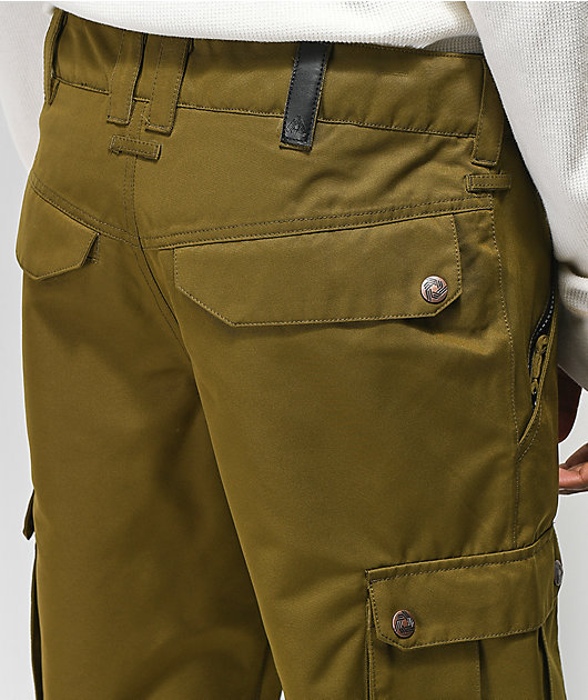 Aperture Alive 10K pantalones de snowboard verdes