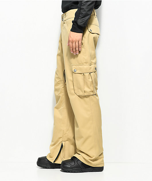 Aperture Alive Cargo Khaki 10K Snowboard Pants