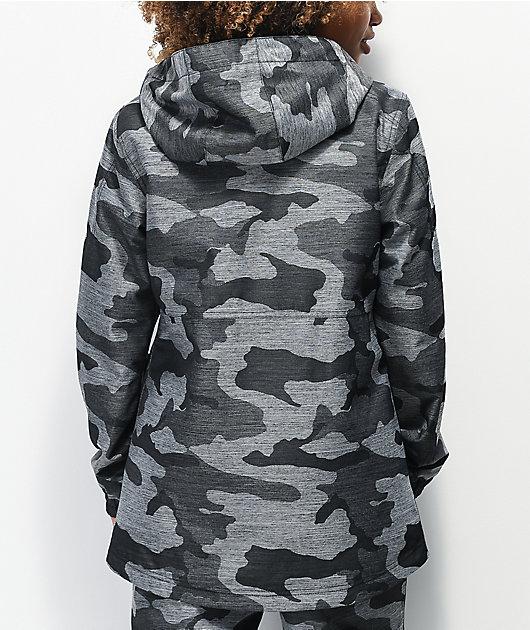 Aperture Aster Grey Camo 10K Snowboard Jacket