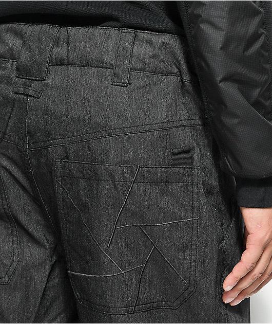 Aperture Boomer Work Pant Black 10K Snowboard Pants