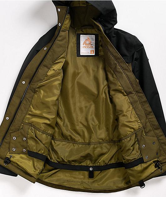 Aperture Breck Olive 10K Snowboard Jacket