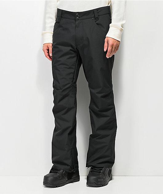 Aperture Green Line Black 10K Snowboard Pants