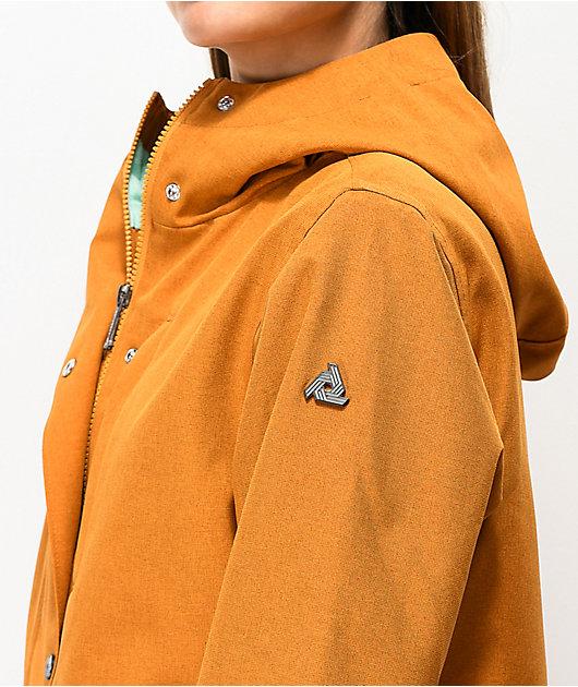 Aperture Highlands Floral Copper 10K Snowboard Jacket