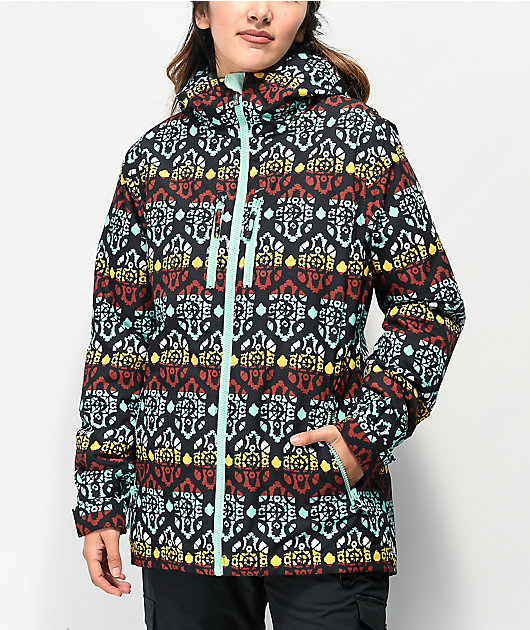 Aperture Jackson Tribal 10K chaqueta de snowboard menta