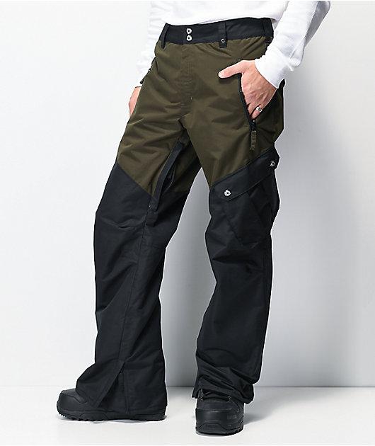 Aperture Outback Black & Grey 10K Snowboard Pants