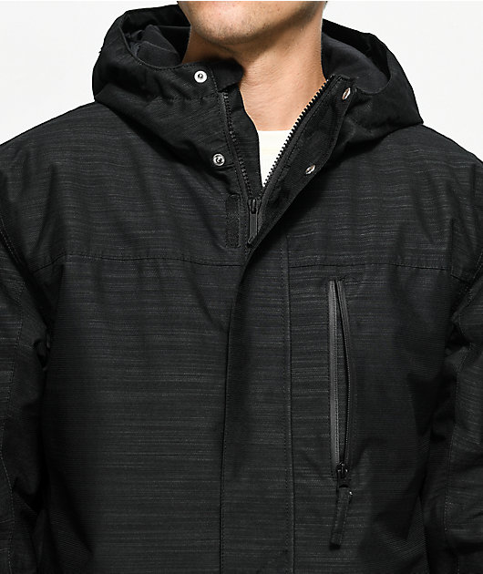 Aperture Secret Chute Black 10K Snowboard Jacket