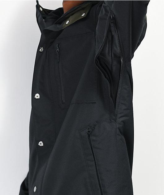Aperture Stratus Black 10K Snowboard Jacket