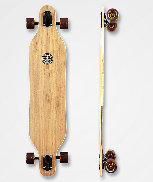 "Arbor Axis Steele PC 40"" Drop Through longboard completo"