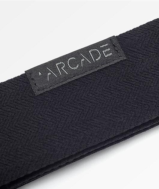 Arcade Midnighter Black Clip Belt