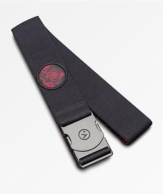 Arcade The Rose Black Belt