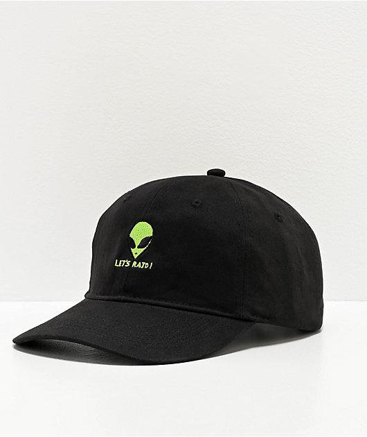 Artist Collective A51 Let's Raid Black Strapback Hat