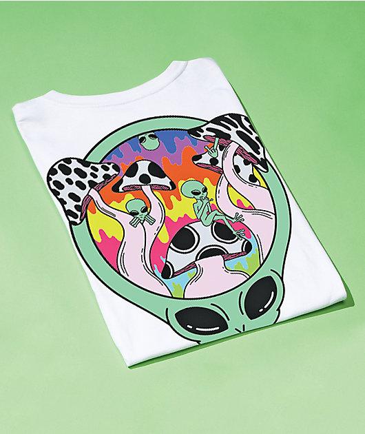 Artist Collective Alien Party 51 White T-Shirt