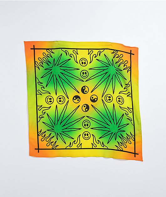 Artist Collective Culture Gradient Green & Yellow Bandana