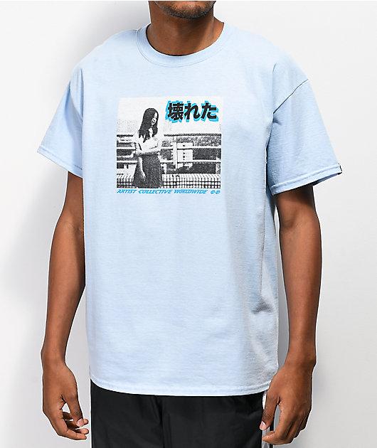 Artist Collective Outta Here Light Blue T-Shirt