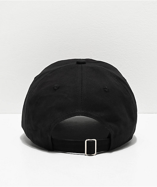 Artist Collective Sicko Face Black Strapback Hat