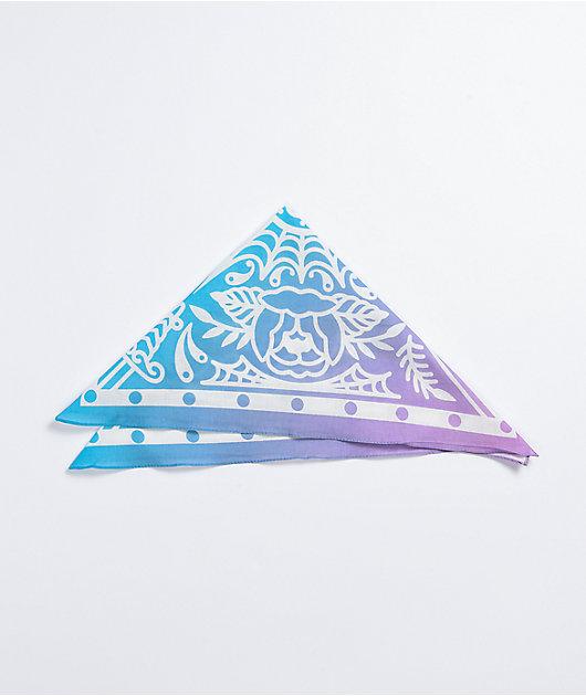 Artist Collective Tattoo Gradient Blue & Purple Bandana