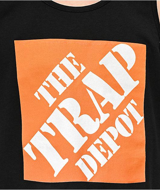 Artist Collective Trap Depot camiseta negra sin mangas