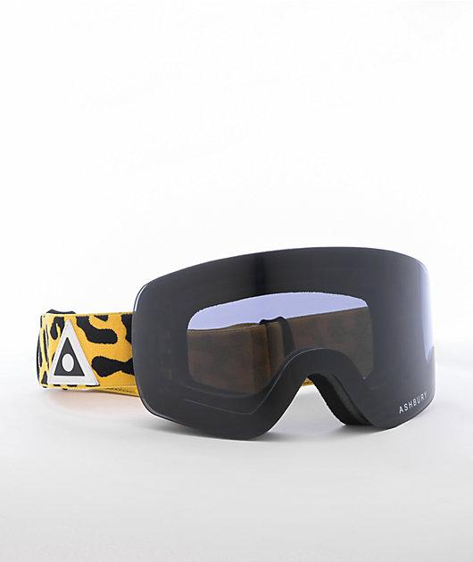 Ashbury Sonic Leopard Snowboard Goggles