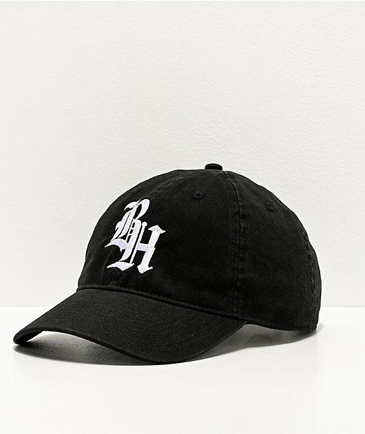 BROCKHAMPTON Black Strapback Hat