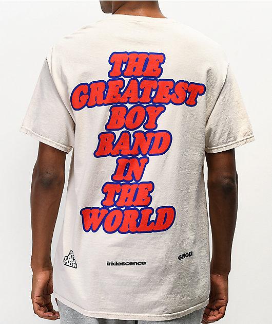 BROCKHAMPTON Boy Band Cream T-Shirt