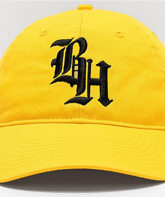 BROCKHAMPTON Yellow Strapback Hat