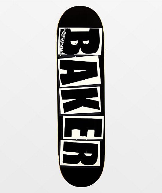 Baker Brand Logo Black & White 8.25
